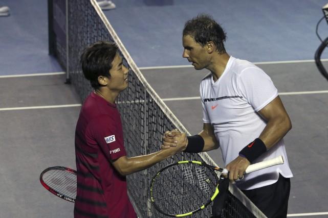 Rafael Nadala eu besoin de presque deux heures... (Photo Enric Marti, AP)
