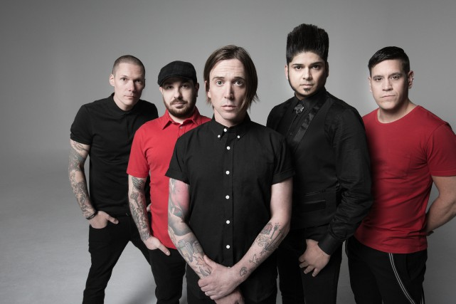 Le groupe de punk rock canadien Billy Talent... (Dustin Rabin)