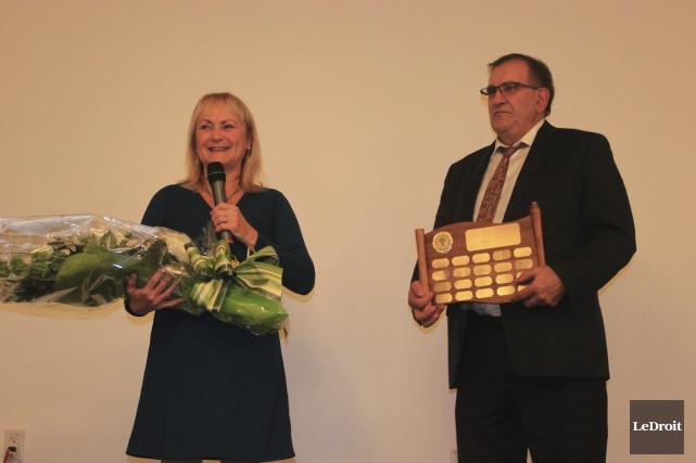 Les récipiendaires du Prix d'excellence en agriculture Pierre-Bercier,... (Martin Brunette, Le Droit)