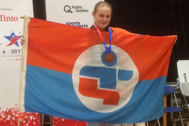 Alyson Cloutier a récolté la deuxième médaille de... (Courtoisie)