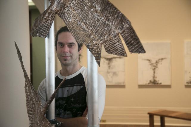 Le sculpteur Matthieu Binette propose de se plonger... (Spectre Média, René Marquis)