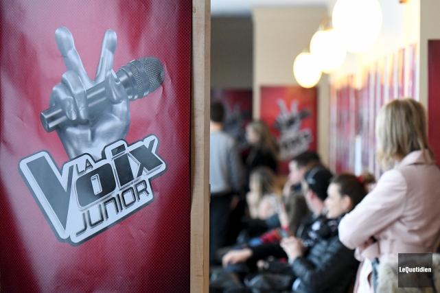 Les préauditions de l'émission La Voix Junior ont... (Photo Le Quotidien, Rocket Lavoie)