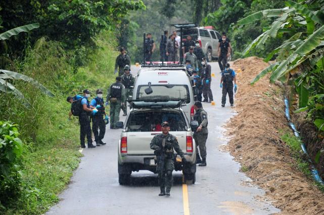 Jeudi soir, un villageois a été abattu dans... (Photo Madaree TOHLALA, AFP)