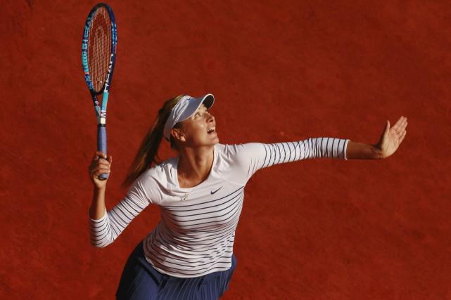 Maria Sharapovaa besoin d'uneinvitationpour intégrer le tableau final... (Photo Jason Cairnduff, archives Reuters)