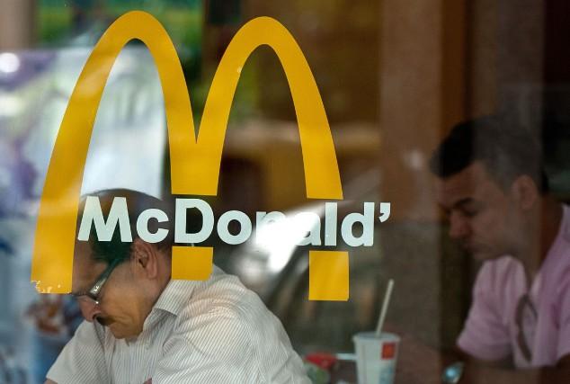 Après le «McMaharaja», le «McLézard»? La chaîne de fast-food McDonald's menait... (Photo Manan Vatsyayana, archives AFP)