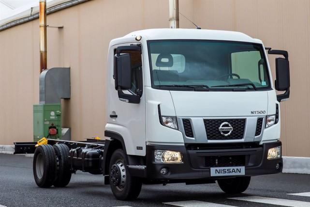 Le NT400 est peut-être... (Photo : Nissan)