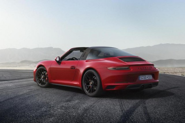 La Porsche 911 Targa 4 GTS dont rêve... (PHOTO Porsche)