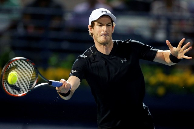 Andy Murray... (Photo Ahmed Jadallah, Reuters)