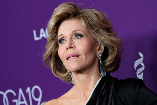 L'actrice Jane Fonda... (Photo CHRIS DELMAS, Agence France-Presse)