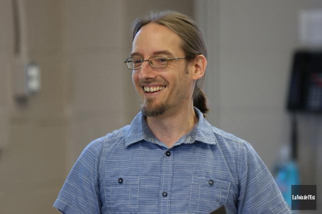 Nicolas Luppens est le coordonnateur duGroupe actions solutions... (Julie Catudal, archives La Voix de l'Est)