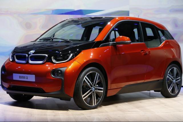 La BMW i3 électrique --comme toutes les électriques--... (photo REUTERS)