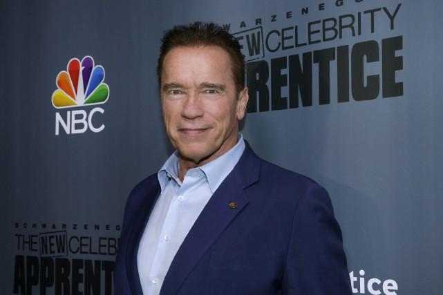 L'acteur et ancien gouverneur de Californie Arnold Schwarzenegger... (Phoot archives AP)