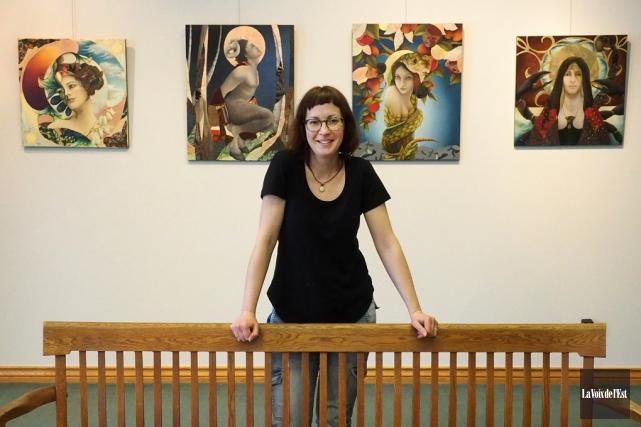Le Centre d'art de Dunham présente les oeuvres... (Alain Dion, La Voix de l'Est)