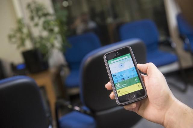 Grâce au mode GO, l'application Transit permet maintenant... (Spectre Média, Julien Chamberland)