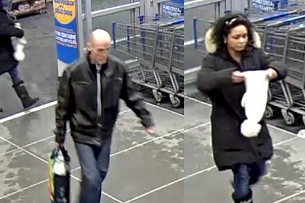 Les suspects recherchés sont un homme chauve de... (fournies par le Service de police de Granby)