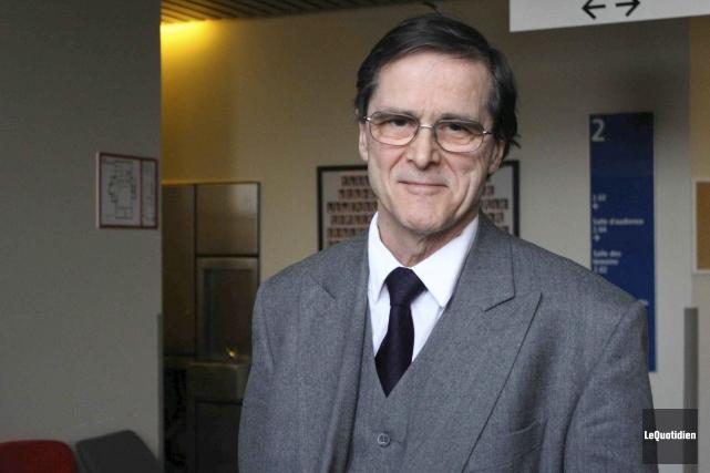 L'avocat de Jimmy Saint-Pierre, Me Louis Belliard, accueille... (Archives Le Quotidien)