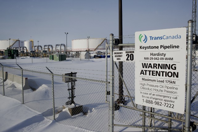 L'oléoduc Keystone XL acheminerait environ 830 000 barils... (Photo archives Bloomberg)
