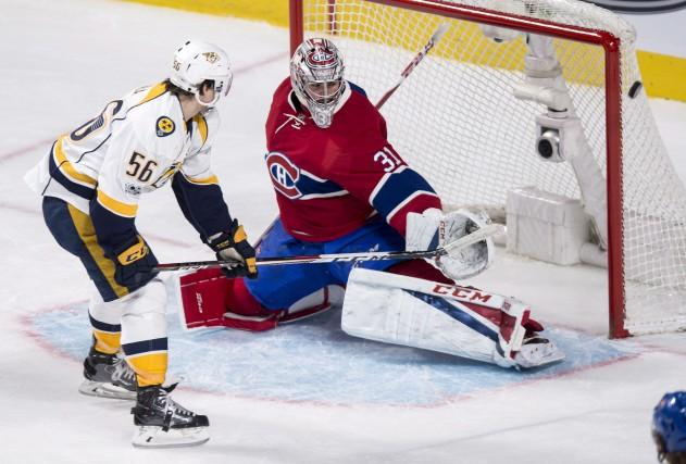 Depuis le début de la saison, Price montre... (La Presse canadienne, Paul Chiasson)