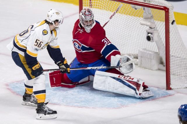 En six rencontres depuis le 18 février, Carey... (La Presse canadienne, Paul Chiasson)