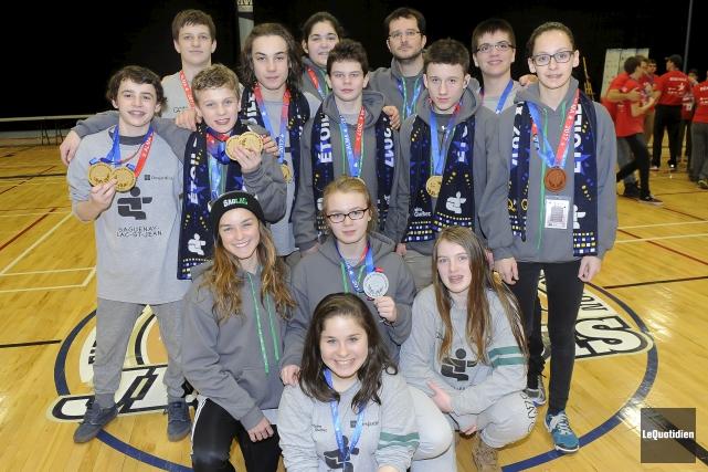 La délégation du Saguenay-Lac-Saint-Jean en judo a connu... (Photo le Quotidien, Gimmy Desbiens)