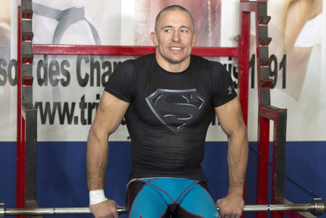 Georges St-Pierre... (Photo archives La Presse canadienne)