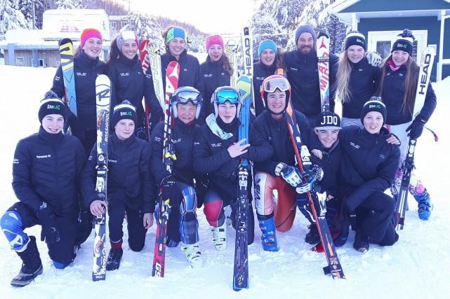 La délégation régionale de ski alpin.... (Photo courtoisie)