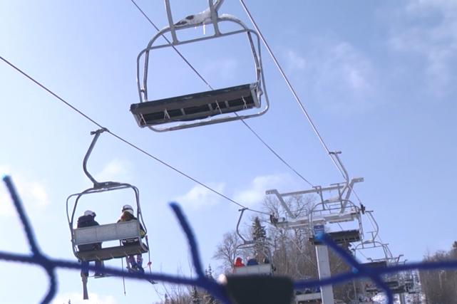 Les compétitions ont débuté vendredi au Mont Lac-Vert.... (Photo La Pige)