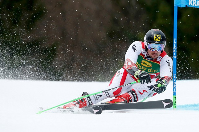 Marcel Hirscher... (Photo Srdjan Zivulovic, REUTERS)