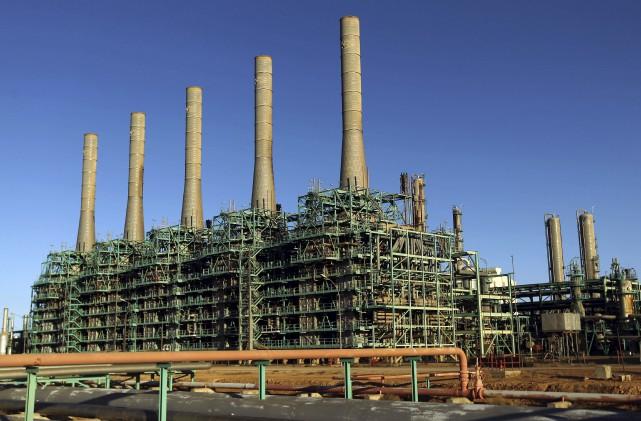 Le site pétrolier contesté, ici photographié en janvier... (AFP, Abdullah DOMA)