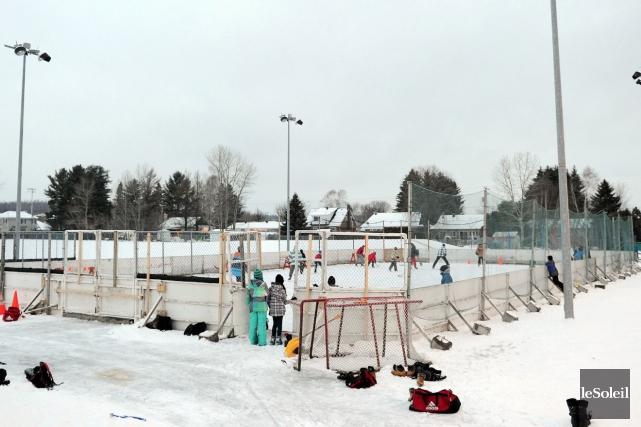Seize surfaces glacées sont néanmoins fermées pour la... (Photothèque Le Soleil, Erick Labbé)