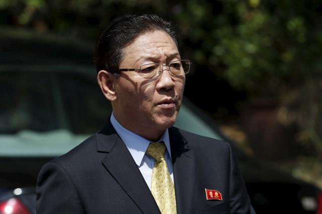 Kang Chol, l'ambassadeur nord-coréen en Malaisie... (Archives AP)