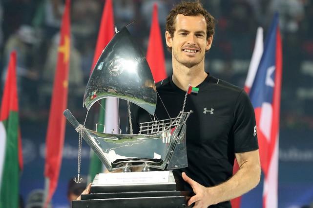 Andy Murray a atteint lafinale dans sept de... (PHOTO KARIM SAHIB, AGENCE FRANCE-PRESSE)