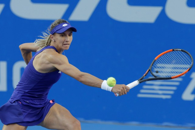 Lesia Tsurenko... (Photo Henry Romero, REUTERS)