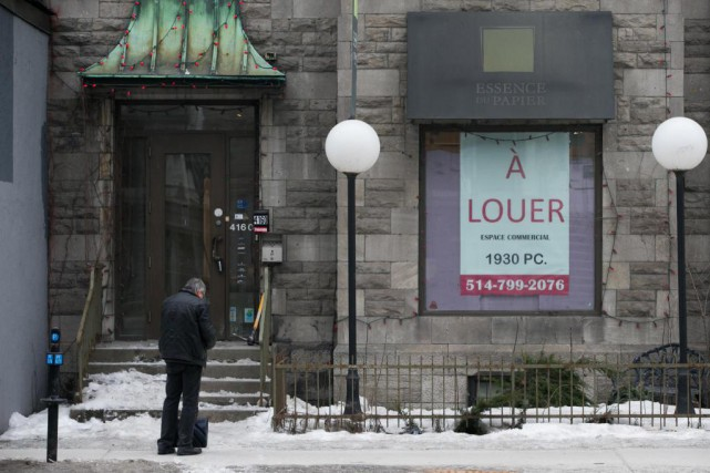 « On sait que l'engouement pour le commerce en... (Photo Martin Tremblay, Archives La Presse)