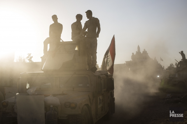 Les forces de la police irakienne ne sont... (PHOTO EDOUARD PLANTE-FRÉCHETTE, archives La Presse)