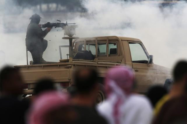Les attaques survenues dimanche ont tué six soldats... (Photo Jon Gambrell, archives AP)