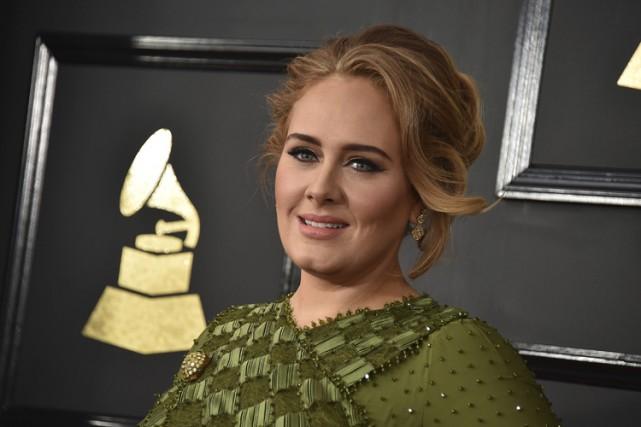Adele, qui a offert une prestation lors de... (Archives AP)