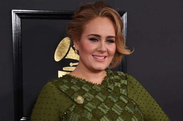 Adele confirme qu 39 elle est mari e sur sc ne - Noelle breham est elle mariee ...
