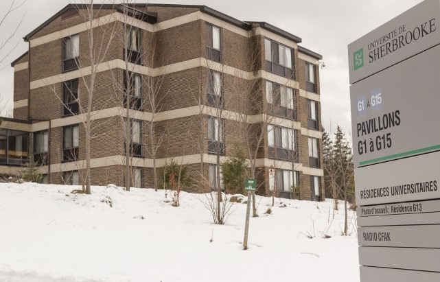L'UdeS compte environ 734 chambres dans ses résidences... (Spectre Média, Marie-Lou Béland)