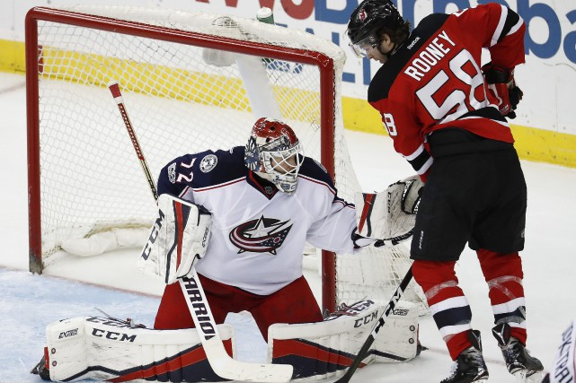 Sergei Bobrovsky... (photo Julio Cortez, AP)