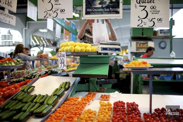 L'achat de produits locaux permet de protéger notre... (Archives, La Presse)