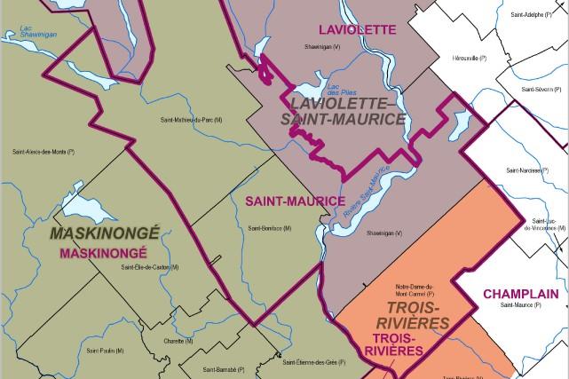 Le fait que la circonscription de Saint-Maurice soit...