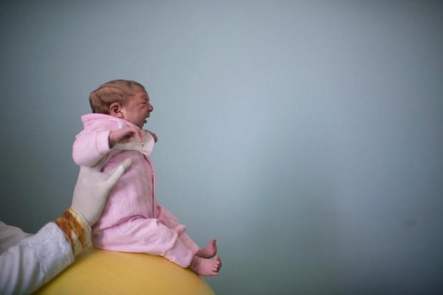 Selon une étude, 120 des 2549 femmes enceintes... (Archives AP)