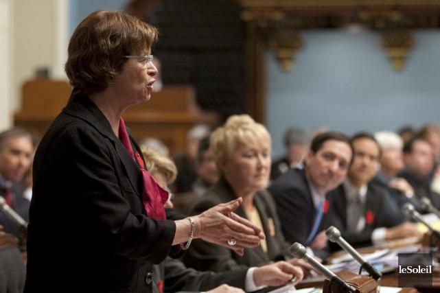 L'ex-ministre péquiste de l'Éducation Marie Malavoy croit que... (Photothèque Le Soleil)