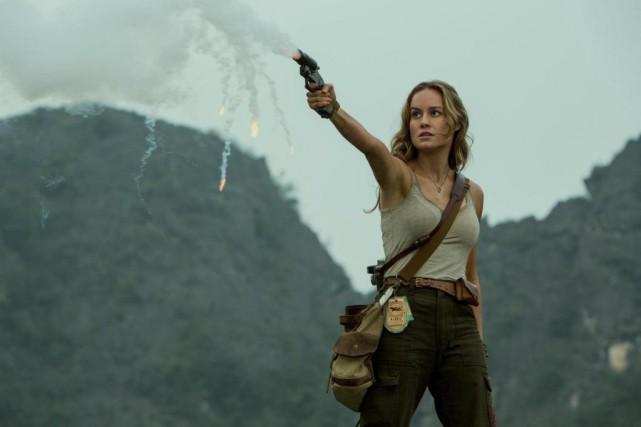 Dans Kong:Skull Island, Brie Larsonincarne Mason Weaver, une... (Photo fournie par Warner Bros.)