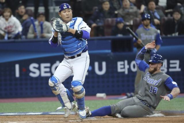 Israël a remporté une victoire de 2-1 contre... (Photo Lee Jin-man, AP)