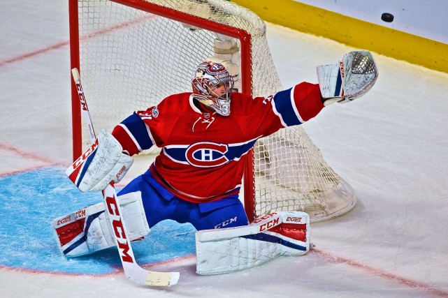 Carey Price a blanchi les Blue Jackets de... (Photo André Pichette, La Presse)