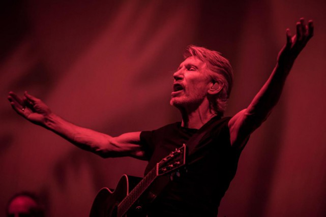 Roger Waters en concert au festival de musique... (photo Carlos Gonzalez, archives the new york times)