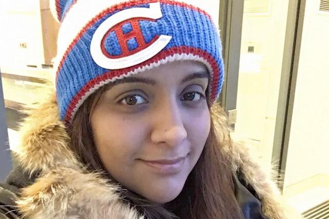 Manpreet Kooner, née au Canada de parents indiens,... (PHOTO TIRÉE DU COMPTE FACEBOOK DE MANPREET KOONER)