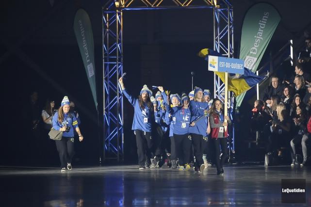 La 52e finale des Jeux du Québec avait... (Archives Le Quotidien)